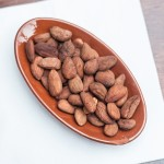 Roasted, salted almonds.