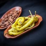 Pickled riojan chillies